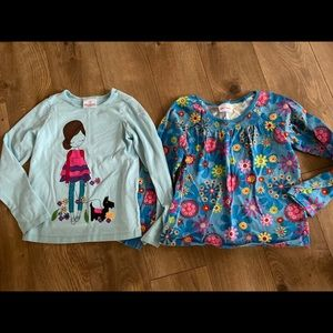 Hanna Andersson Girls Tops Sz 130 (8)